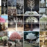 CIA High Imitation Artificial Cherry Blossom Trees Artificial flower trees:wedding trees; pink&white color available