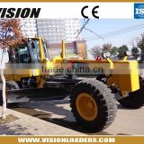 Road Machinery GR215 Grader For Sale , XCMG High Quality Motor Grader With Front Dozer And Rear Ripper