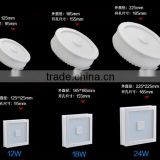 DIHAO best selling products Opening Hole Square LED Ceiling Light Recessed Kitchen Bathroom Lamp Wall Light