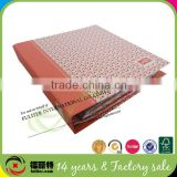 Fashion decoration handmade paper file folder