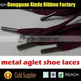 custom metal tip shoe laces