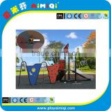 Outdoor Playground Slide Set HDPE and Stainless Steel Construction/playground set
