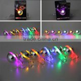Flashing Blinking Stainless Steel Earrings Stud Dance Party Accessories 1 Pair Light Up LED earrings Stud