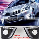 LED DRL For Toyota Corolla LED Car Styling DRL For Toyota Corolla Car Accessories Daytime Running Lights Fog Lights High Quality