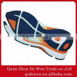 37# To 41# New Style Sports Lady Shoe Crepe Natural Rubber Slip Resistant Soles MOQ 1200 Pairs