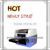 all colors environmental cheap byc168-3 digital flated inkjet PVC card printer for wholesale