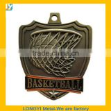 Basketball theme medal/cheap medal and trophy