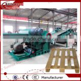 professional wood pallet crusher, waste pallet crusher, used pallet crusher