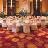 Banquet Fireproof carpet Restaurant carpet Red pattern carpets