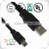 short leas time wired controller usb breakaway cable for xbox 360 with ISO9001-2008