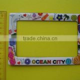 OEM Factory - Epoxy magnetic frame, epoxy fridge magnet photo frame, epoxy resin picture frame