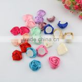 Wholesale Wedding decorative high quality silk roses folowers artificial handmade rose flowers