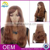 Factory price high density customizable long blonde wig