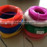 various el flash wire / el flash cable with different colors in a roll 50meters