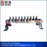 trunking system electrical busbar connectors copper aluminum tinned busbar connection for grounding