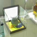 Berne showcase display panel light guide plate LGP vitrine display panel led light panel