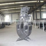 LG6250E multi peel clamp for excavator ,OEM in competitive price,sdlg bucket for wheel loader and excavator