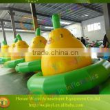 2016 new product inflatable water games/water trampoline