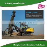 AtlasCopco Blast hole Hydraulic drill rig for quarry site mining project PowerROC D45,90-130mm hole diameter