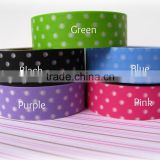 Wholesale YIWU FACTORY adhesive masking tape 15mm x 10m Washi Tape Trendy Tape Polka Dot Decorative Trendy Paper Package