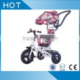 Push power stroller baby pram tricycle 3 wheels baby tricycle new models