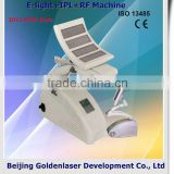 2013 New design E-light+IPL+RF machine tattooing Beauty machine nail art uv gel curing lamp