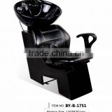 Salon shampoo chair shampoo unit shampoo bed hair washing chair with basin