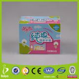100% pure cotton155mm panty liners/ daily liners for woman OEM factory