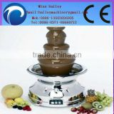 2014 hot sale and good quality Chocolate fountain