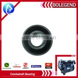 durable with ISO9001certificate agricultural machine yunnei 4100QB crankshaft bearing diesel engine parts