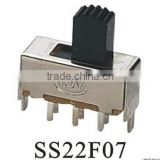SS22F07 slide switch