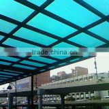 awning,plastic roofing, transparent plastic roof,polycarbonate sheet, PC hollow sheet, PC solid sheet