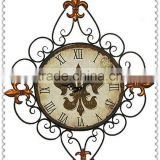 New Design Integration Antique Metal Wall Clock