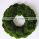 Home Wall to wall decoration 0.5mx0.5m artificial green wall moss foam hanging carpet EPZM05 0909