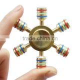Upgrade edition 100% brass fidget toy Integral disassembly High freedom Hand Spinner Spinner Long Anti Stress