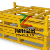 Dismountable Warehouse Pallet Stacking Frames With Removable Posts