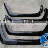 4x4 car parts for toyota lc77 flares fiberglass fender flare for land cruiser