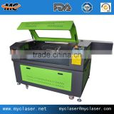 Die Board Cutting 18mm plywood Laser cutting machine for box making CNC die cutting rule MC9060