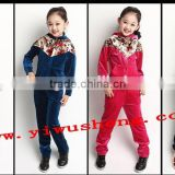 2014 hot sale autumn new design girls outfit girls clothes set wholesale