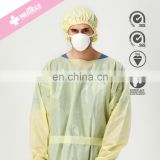 Impervious Polypropylene Personal Protective Equipment Disposable Dressing Gown