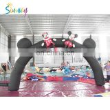 New Design Inflatable Advertising Arch , Inflatable Archways, Inflatable Wedding Arch For Sale