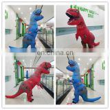 HI CE inflatable dragon costume for adult size,vivid animal costume for hot sale