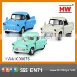 Lovely 1:38 Diecast pull back vintage car metal car open door car toy