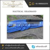 Hand Crafted Nautical Headband for Mass Purchase by Well-Known Dealer