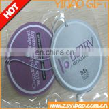 paper car air freshener/perfume/scent/fragrance with different shape and perfume