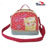 Customized Wholesale Printed Lunch Bags with Adjustable Shoulder Strap