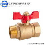 1'' With Female Thread And Male Thread Water Brass Ball Valve