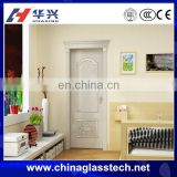 CE approved Interior partition building decorative tempered glass pvc toilet door pvc bathroom door price