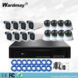CCTV 16chs H. 265 5.0MP Full Color in Day & Night IP Camera Poe System NVR Kits