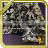 Black and white hot fix crystal trims rhinestone sheet garment accessories FRM-215                                                                                                         Supplier's Choice
